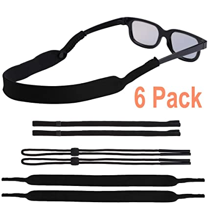 5c9d3ed3de0 EnriQ Sunglass Straps Three Kinds of Eyeglass Straps Floating Neoprene Eyewear  Retainer Sport Glass Retainer Holder