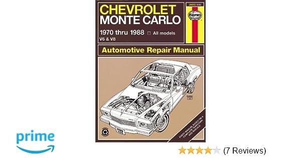Chevrolet monte carlo 7088 haynes repair manuals haynes chevrolet monte carlo 7088 haynes repair manuals haynes 0038345006265 amazon books fandeluxe Image collections
