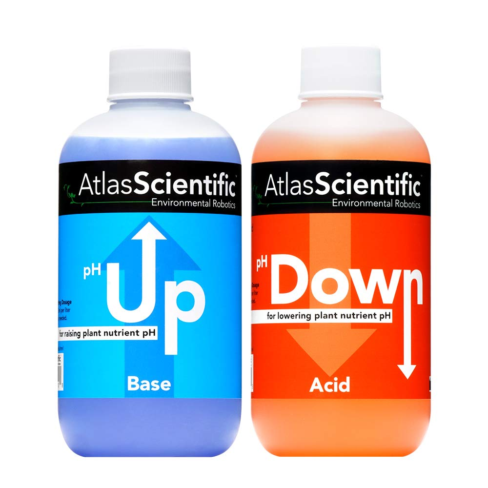 Atlas Scientific pH Up and Down 250ml (8oz)