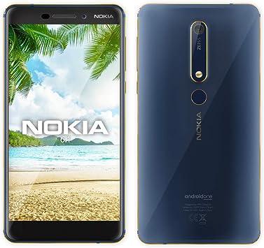Nokia 6.1 (Nokia 6 2018) TA-1043, 64 GB, 4 GB de RAM, Dual SIM ...