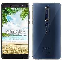Nokia 6.1 Dual Sim 4G LTE - 64GB, RAM 4GB, Blue