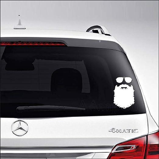 Beard Window Door Car Sticker Laptop Auto Bumper Wall Decal  Vinyl