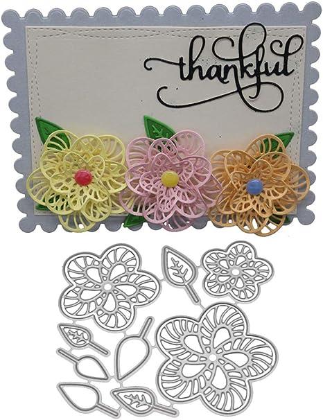 Metal Leaf Cutting Dies Stencil Scrapbooking Album Paper Card Embossing Craft CA