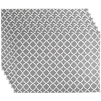 DII Lattice Cotton Placemat For Dinner Parties, Summer & Outdoor Picnics- 13x 19