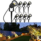 LightInTheBox 3 Colors Flood Light IP65 Waterproof Outdoor Stand Light DC 12V/24V, 7w