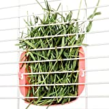 Mkono Hanging Hay Feeder Manger Rack for Rabbit Guinea Pig Chinchilla
