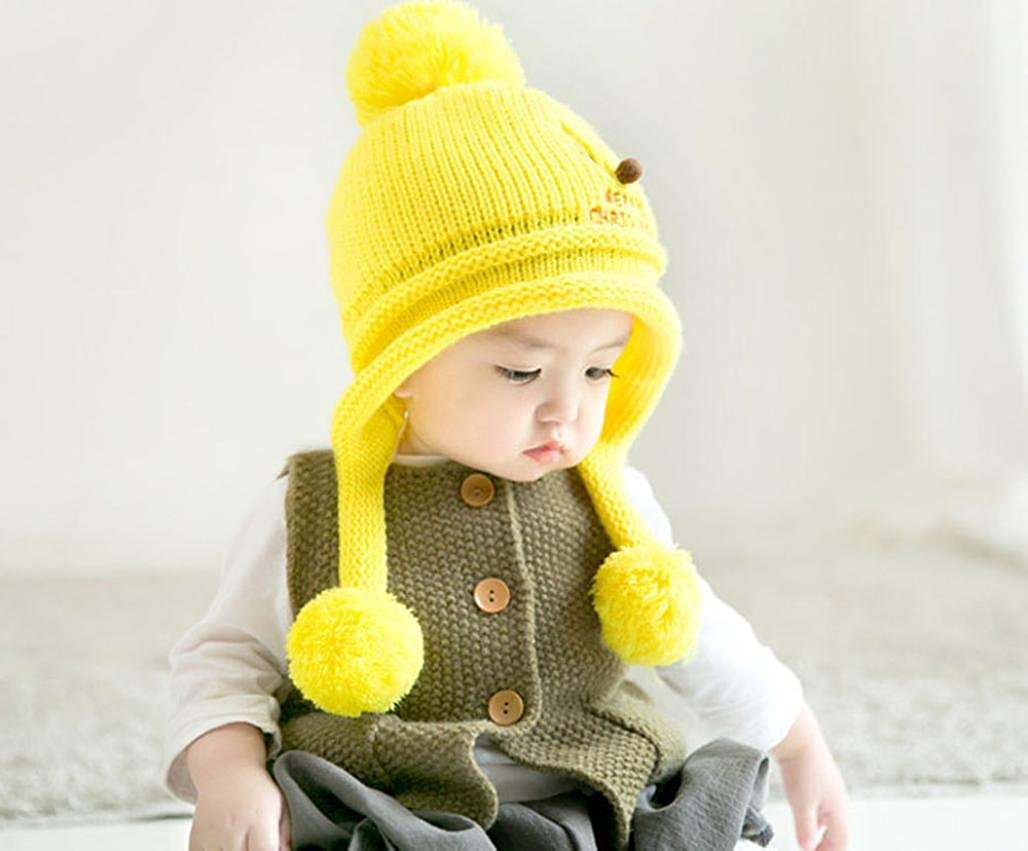 Suit for 6-24 Months Baby,DIGOOD Christmas Boys Girls Warm Cotton Cute Beanie Hats