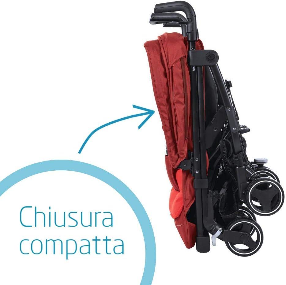 Reversibile Reclinabile Sedute Affiancate Red Orchid B/éb/é Confort Dana For2 Passeggino Gemellare Fratellare Compatto