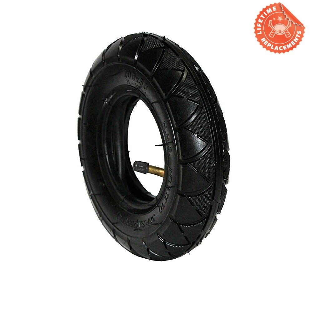 FDJ 200x50 (8''x2'') Electric & Gas Scooter Tire Razor ePunk Tire & Inner Tube Set for E100 & E200 Scooters