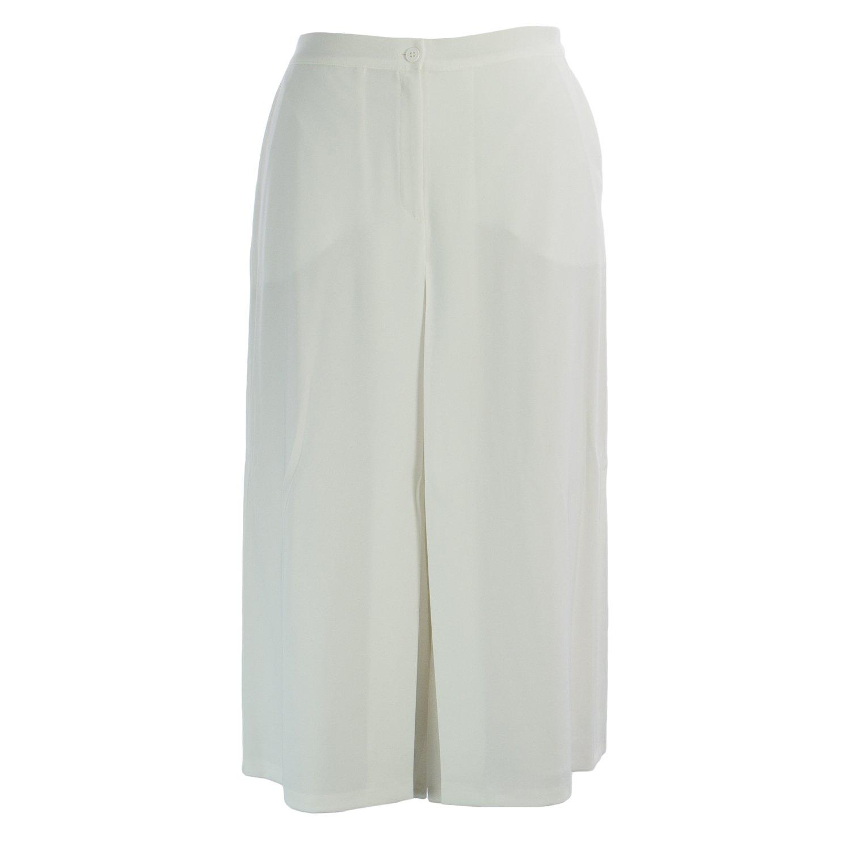 Marina Rinaldi Women's Casa Button Front Culottes 18W / 27 White
