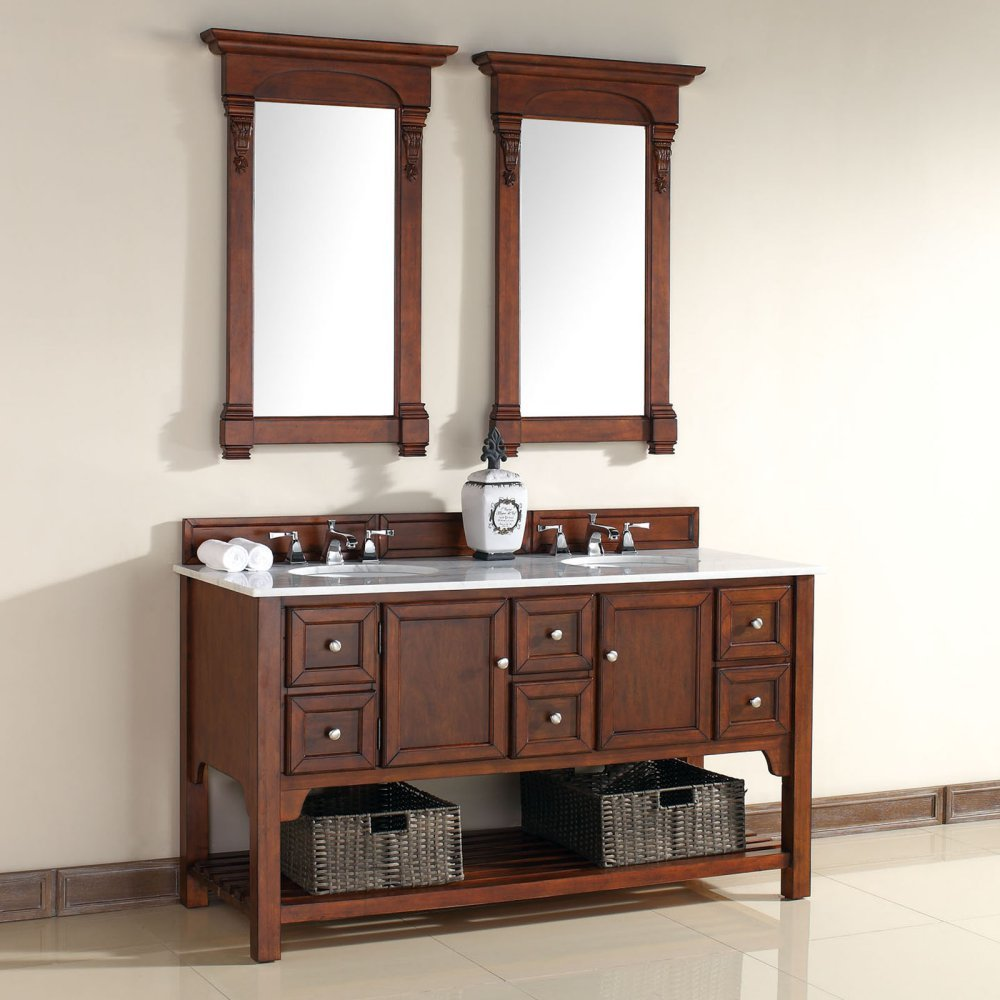 James Martin South Hampton 60 in. Double Bathroom Vanity hot sale