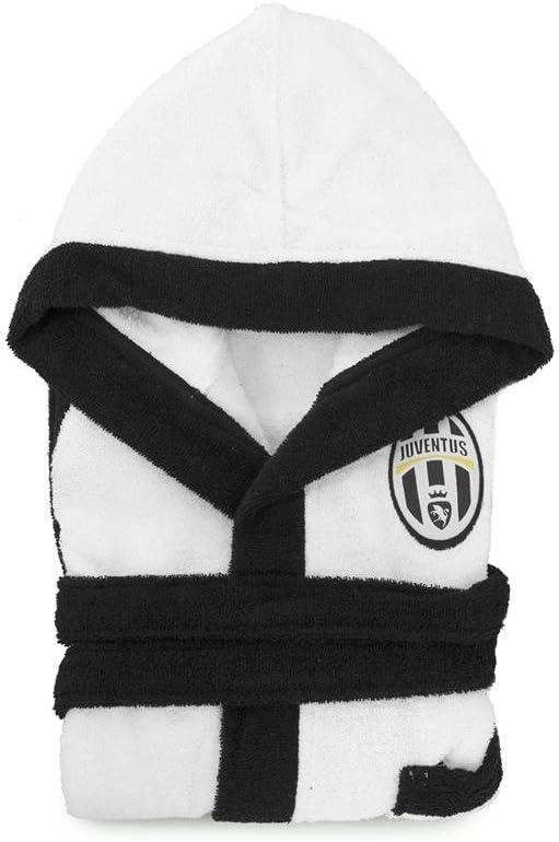 Accappatoio Juve Juventus microspugna Bambino//Ragazzo Ufficiale Salvaspazio P068 4-6 anni