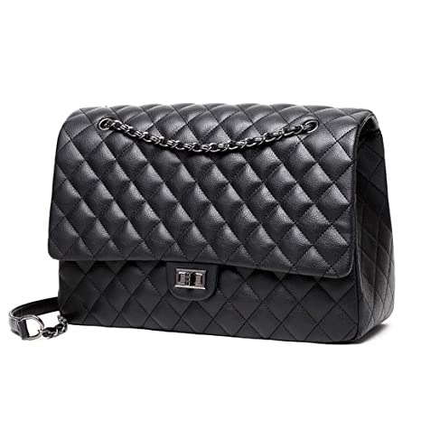 984fdc7bfe6d Large Shoulder Bag Women Travel Bags Leather Pu Quilted Bag Handbags ...