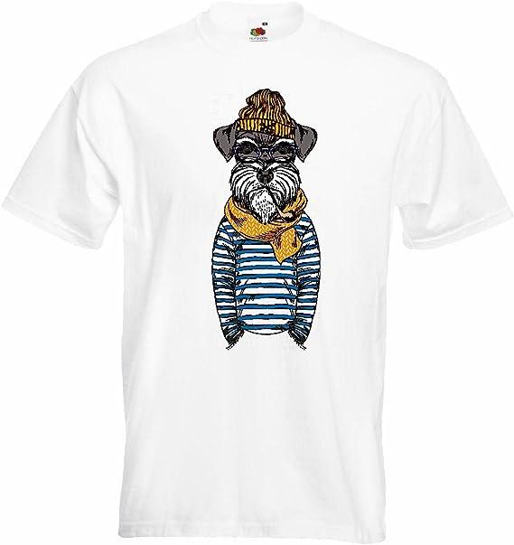 T-Shirt Camiseta Remera Schnauzer Miniatura Divertido en ...
