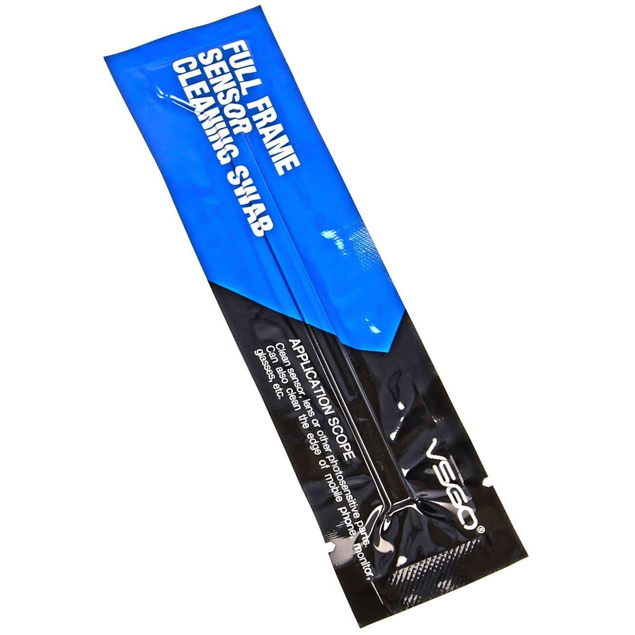 VSGO Full-Frame FFR Sensor Cleaning Swabs (24mm) - 20 Individually Vacuum-Packed Swabs in A Padded Bag by VSGO