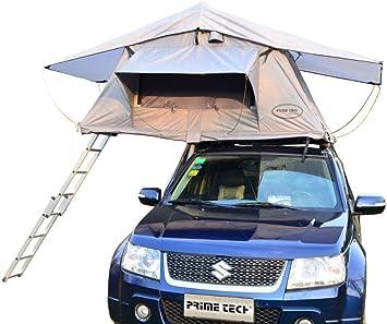 Prime Tech Wasteland - Tienda para techo de vehículo, 240 x 140 x 130 cm, color arena y beige: Amazon.es: Coche y moto