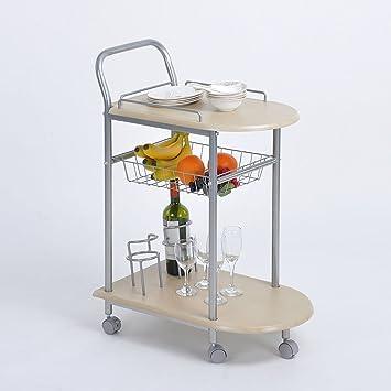 Aingoo muebles cocina cesta de la compra carrito para servir para ...
