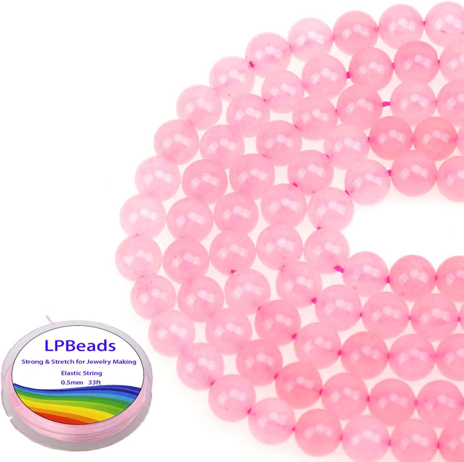 8 Inches ROSE QUARTZ CARVED Melon Shape Natural Gemstone Carving Center Drill Beads Line Genuine Quartz Beads Strand Reasonable Price