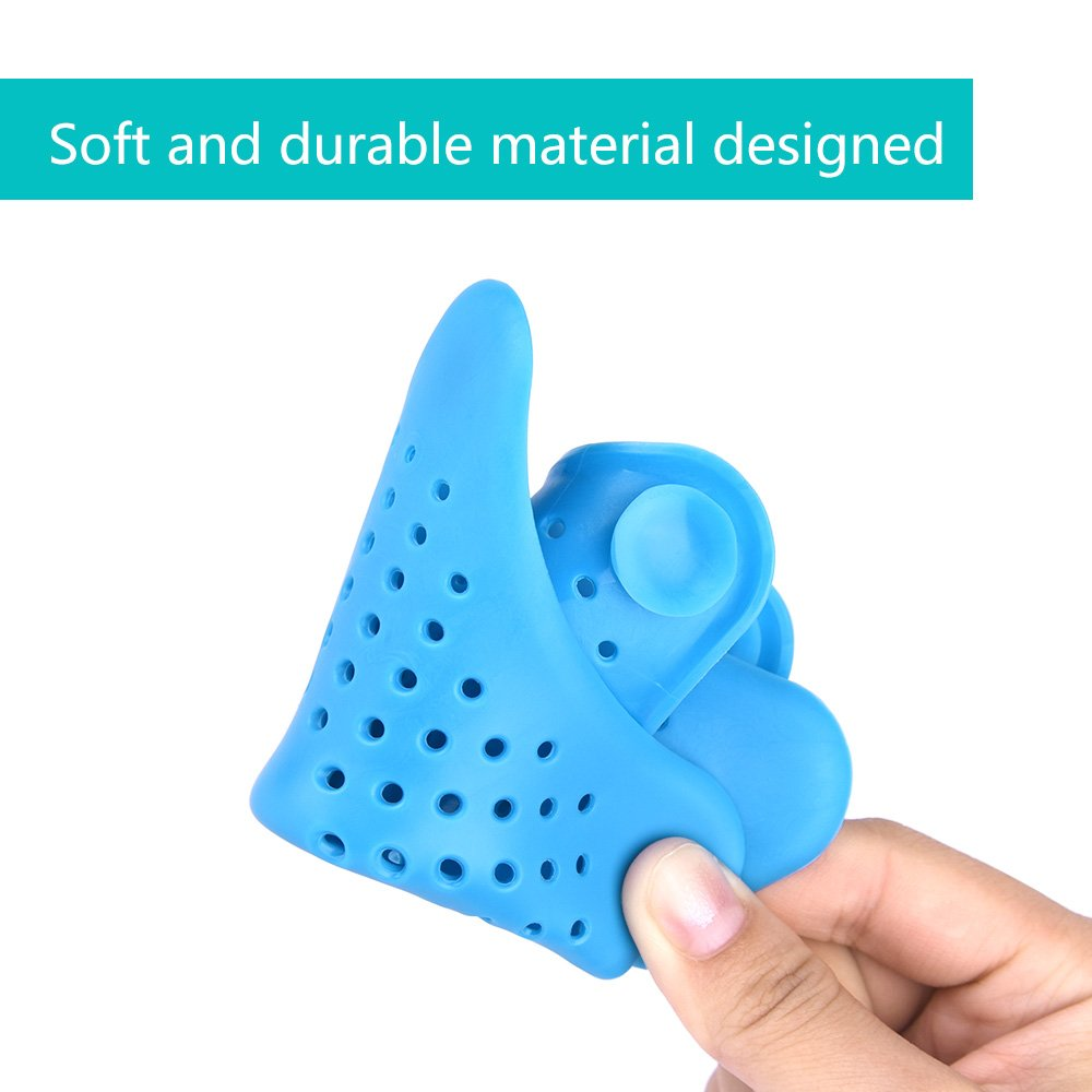 FEPITO 5 Pcs Shower Drain Hair Catcher Sink Filter Non-Slip Shaped Silicon Bathtub Drain Cover Stoppers Home Kitchen Accessories