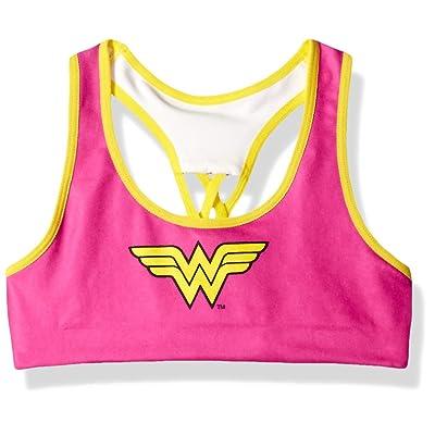 DC Comics Big Girl's Licensed Girl Bra Bra at Amazon Women's Clothing store