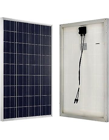ECO-WORTHY 100W 12V policristal de panel solar célula solar ideal para cargar de 12