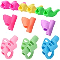12 PCS Pencil Grips for Kids Handwriting for Preschool,Silicone Pencil Holder Pen Writing Aid Grip Posture Correction Tool for kids Preschoolers Children Adults Students in Special Needs.
