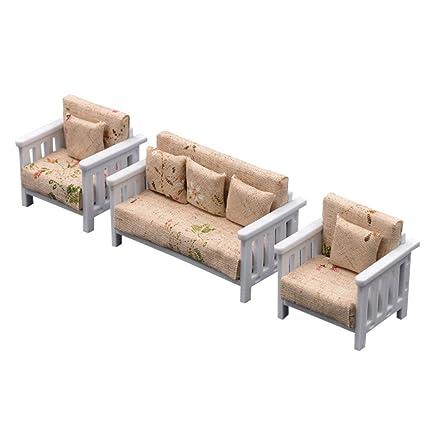 Strange Remeehi Dollhouse Furniture Pretend And Play Mini Sofa Toys Machost Co Dining Chair Design Ideas Machostcouk