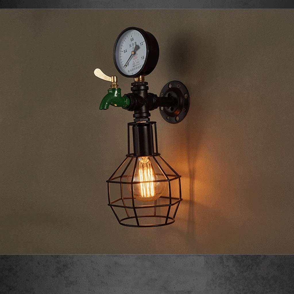 SMMRB レトロなノスタルジックな通路階段ライト工業用風バー装飾照明15 * 39 cm 壁面ライト B07RHF296Y