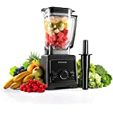 High Speed Smoothie Blender,Alfawise 1450W Professional Commercial Smoothie Blender,30000RPM Heavy Duty Food Processor with BPA-Free Pitcher for Ice, Fruits, Vegetables, Smoothies and Soups