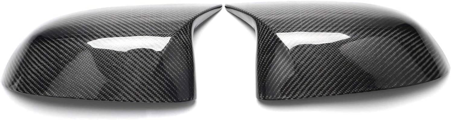 Max Carbon /® Calotte in carbonio ABS per specchietti retrovisori compatibili con X3 X4 X5 X6 X7 G01 G02 G05 G06 G07