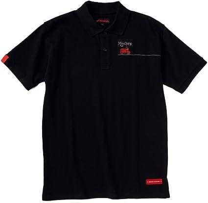 Honda polo Shirt Mono polo negro LL 0syel-w5d-kll: Amazon.es ...