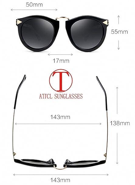 ATTCL Mujer Gafas De Sol Polarizado Uv400 Protección 1189-Leopard: Amazon.es: Ropa y accesorios