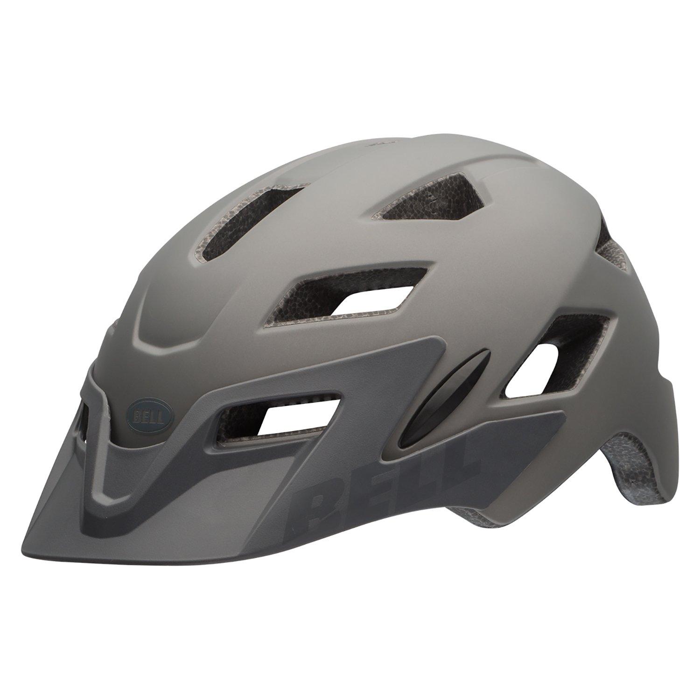 Bell Sidetrack Youth Bike Helmet - Kid's Matte Titanium Shark by Bell (Image #2)