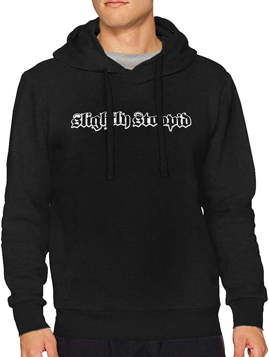 Mens Slightly Stoopid Long Sleeve Hooded Sweat Shirt Pullover