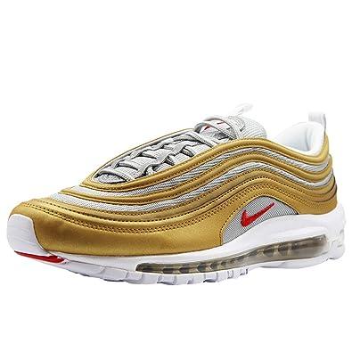 topowe marki szczegóły dla za pół Nike Air Max 97 Gold Mens Trainers: Amazon.co.uk: Shoes & Bags