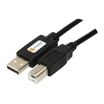 Decrescent Cable USB de impresora para TODAS las impresoras y faxes Brother DCP Toner - Consultar la descripción para compatibilidad: Incluyendo - ...