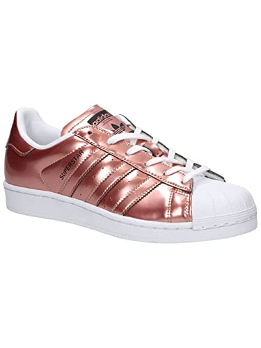 adidas Superstar W Copper Metallic Copper Metallic White: Amazon.fr: Sports et Loisirs