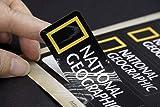 National Geographic Car Bumper Window Sticker Logo