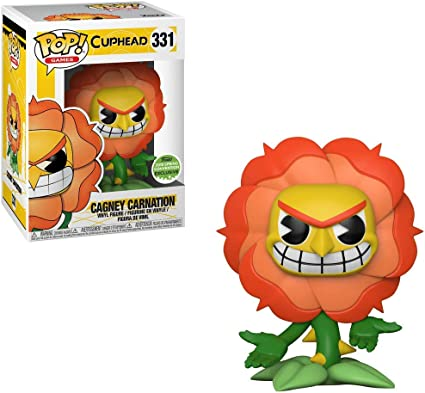 Funko Pop Cagney Carnation Exclusive Cuphead