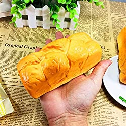 Bread Loaf Roll Slow Rising Squeeze Collection Toy K0127 (1.orange)