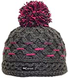 Everest Designs Women's D'angela Beanie, Grey, One Size