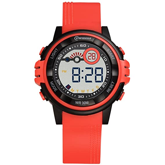 Relojes Digitales, Reloj Digital para Estudiantes, Resistente al Agua [Encantador] Reloj Digital
