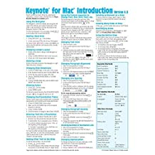 Keynote for Mac Quick Reference Guide, version 6.5: Introduction (Cheat Sheet of Instructions, Tips & Shortcuts - Laminated Card) by Beezix Inc. (October 31,2014)