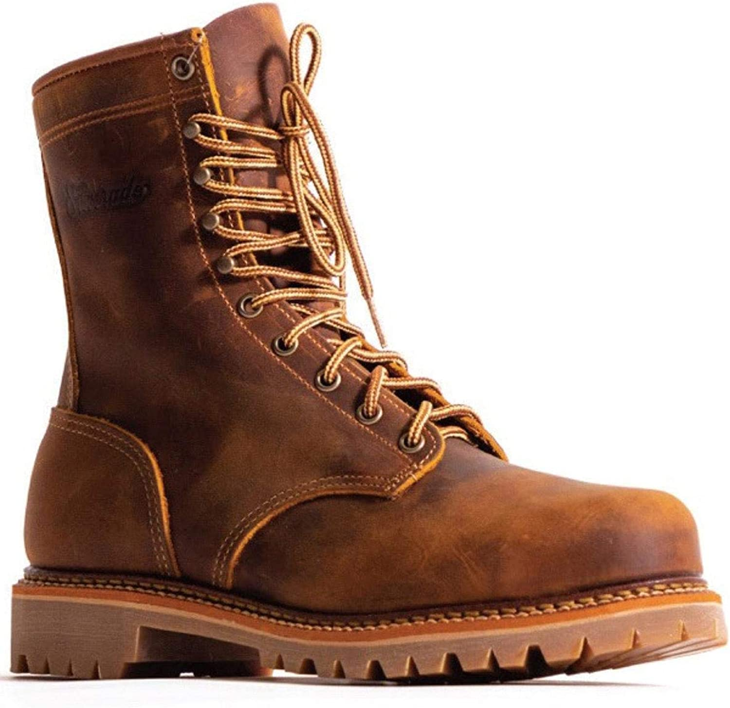 Lace-Up Work Boot Steel Toe