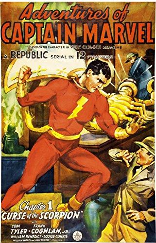 XXXL 20 x 30 adventures of captiam marvel 1941 chapter 1 20