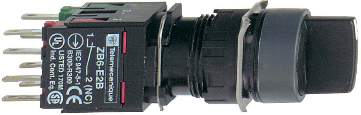 Black Complete Selector Switch