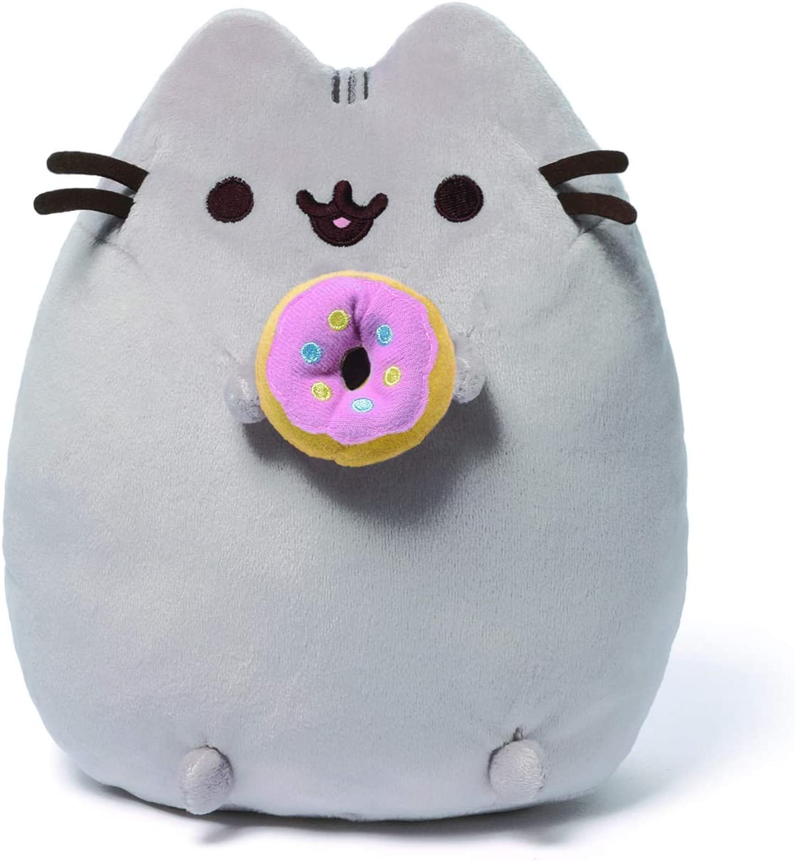 "GUND Pusheen Snackables Donut Plush Stuffed Animal Cat, 9.5"""