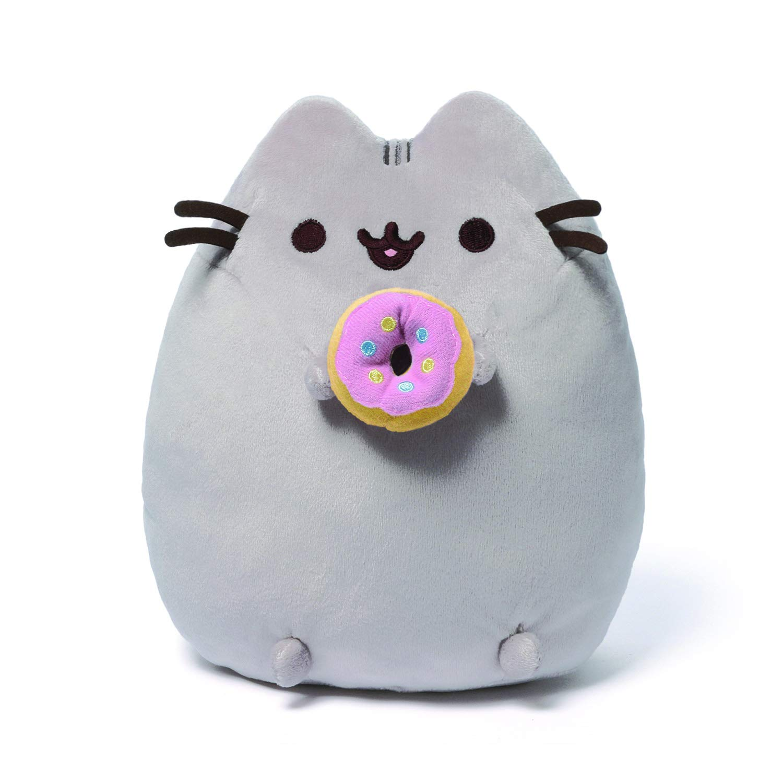 GUND Pusheen Snackables Donut Plush Stuffed Animal Cat, 9.5'' by GUND