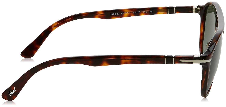 edf03ae47 Persol Sunglasses For Men, Green PO3170S 90153152 52 mm: Amazon.ae