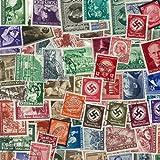 Collection de timbres Allemagne Avant 1945 oblitérés - 200 timbres différents